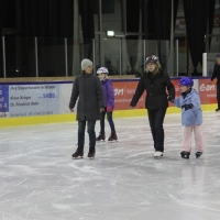 Eislaufen in Brokdorf