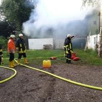 Feuerwehreinsatz-Kaaksburg